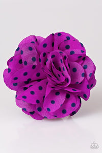 polka-and-petals-purple-hair-clip-paparazzi-accessories