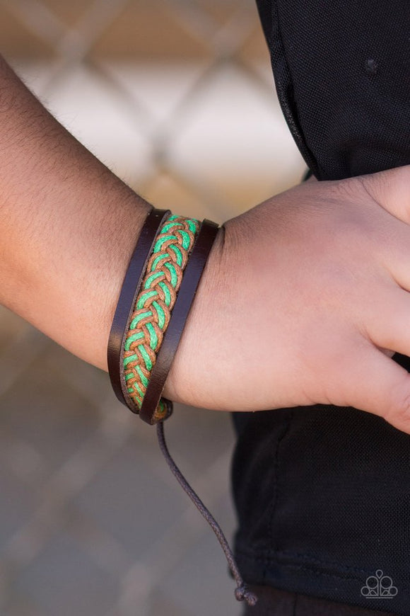 wander-often-green-bracelet-paparazzi-accessories