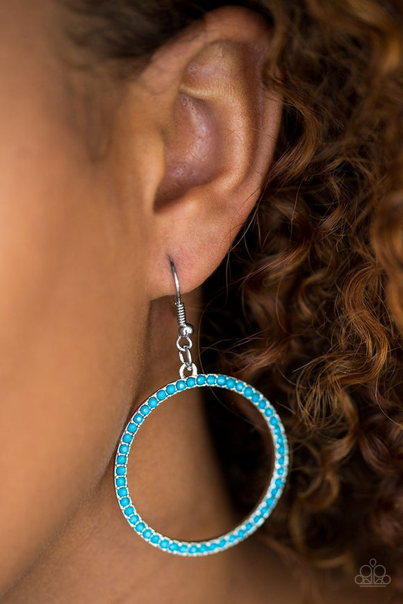 spring-party--blue-earrings-paparazzi-accessories