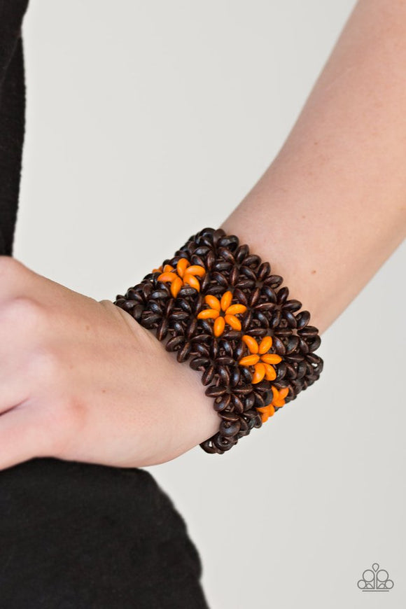 bahama-babe-orange-bracelet-paparazzi-accessories