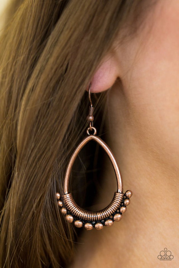 steal-the-thunder-copper-earrings-paparazzi-accessories