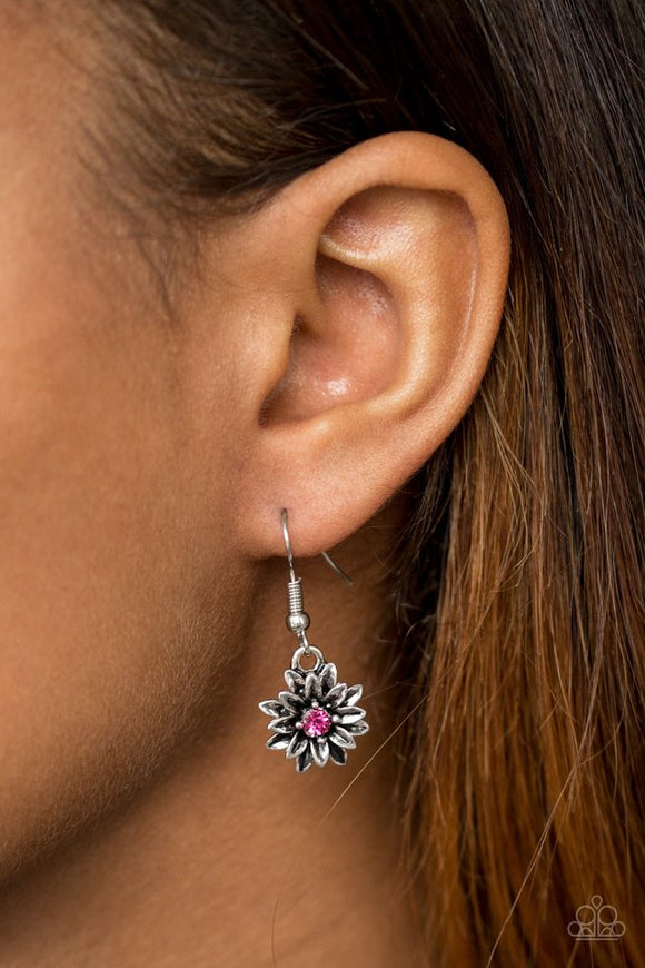 diamonds-and-daisies-pink-earrings-paparazzi-accessories