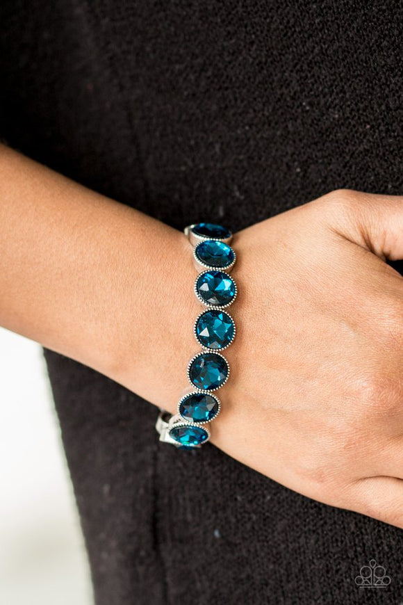 number-one-knockout-blue-bracelet-paparazzi-accessories