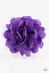 awesome-blossom-purple-hair-clip-paparazzi-accessories