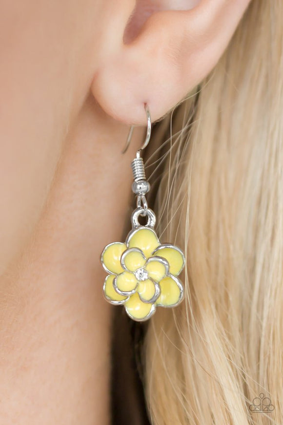 merry-meadows-yellow-earrings-paparazzi-accessories