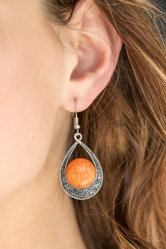 richly-rio-rancho-orange-earrings-paparazzi-accessories