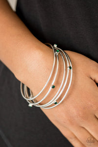 delicate-decadence-green-bracelet-paparazzi-accessories