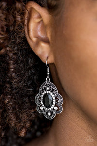 reign-supreme-black-earrings-paparazzi-accessories