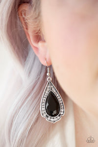 superstar-stardom-black-earrings-paparazzi-accessories