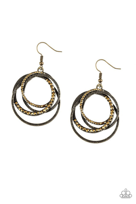 elegantly-entangled-brass-earrings-paparazzi-accessories