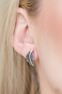 flying-feathers-silver-earrings-paparazzi-accessories