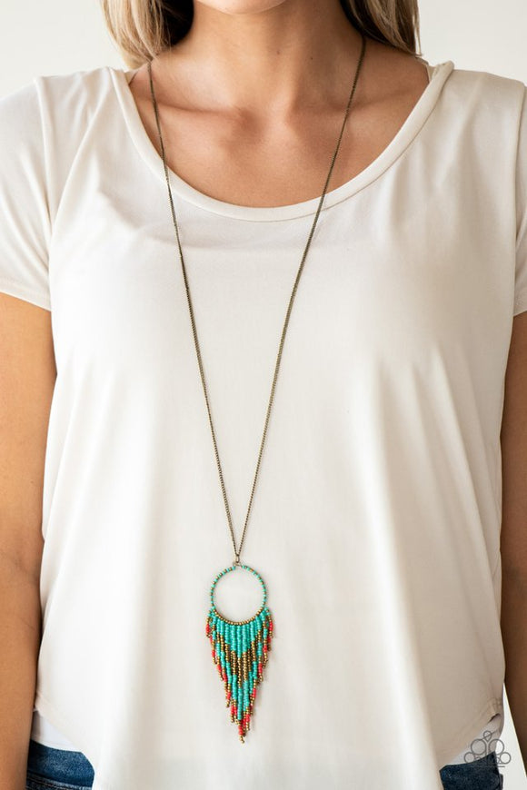 badlands-beauty-blue-necklace-paparazzi-accessories