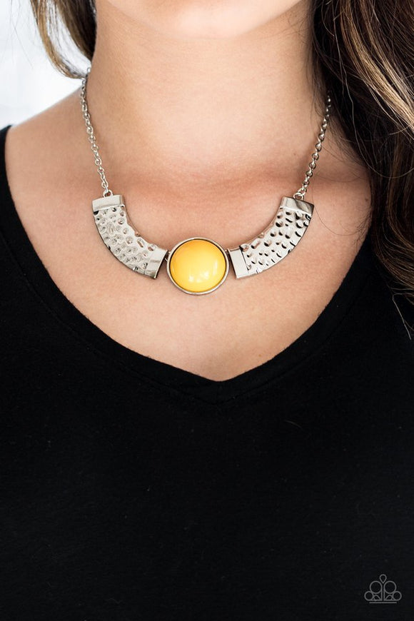 egyptian-spell-yellow-necklace-paparazzi-accessories