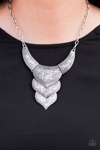 texas-temptress-silver-necklace-paparazzi-accessories