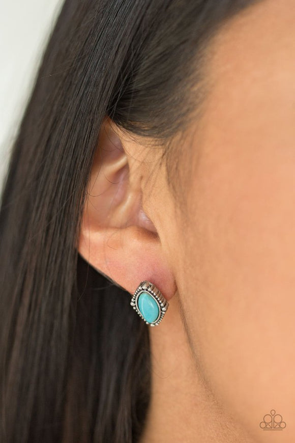a-house-is-not-a-homestead-blue-earrings-paparazzi-accessories