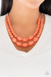 sundae-shoppe-orange-necklace-paparazzi-accessories