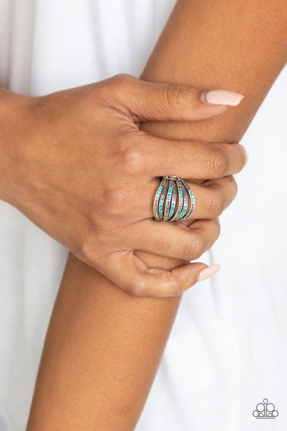 securing-my-finances-blue-ring-paparazzi-accessories