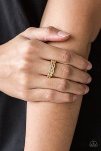 unstoppable-shine-gold-ring-paparazzi-accessories