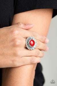 gardenia-glow-red-ring-paparazzi-accessories