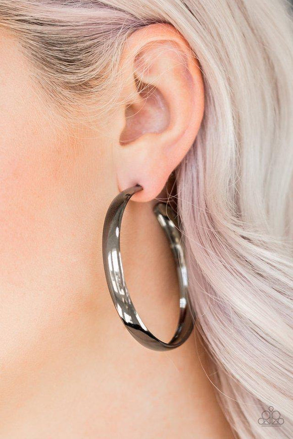 a-double-feature-black-earrings-paparazzi-accessories