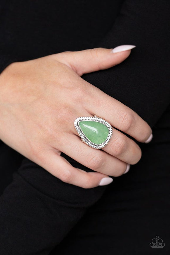 mojave-mist-green-ring-paparazzi-accessories