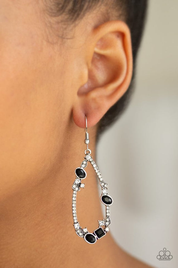 quite-the-collection-black-earrings-paparazzi-accessories