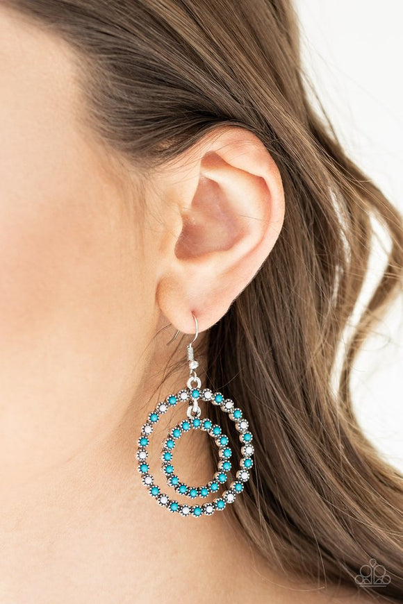 vibrant-venture-blue-earrings-paparazzi-accessories