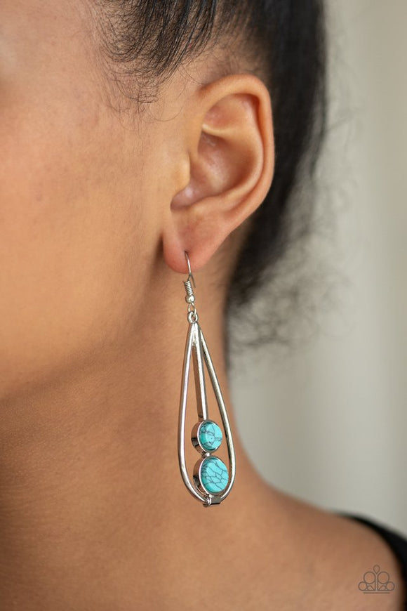 natural-nova-blue-earrings-paparazzi-accessories