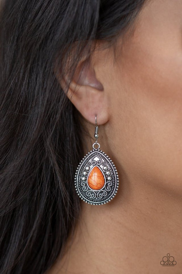 desert-nirvana-orange-earrings-paparazzi-accessories