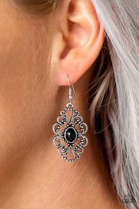 over-the-pop-black-earrings-paparazzi-accessories