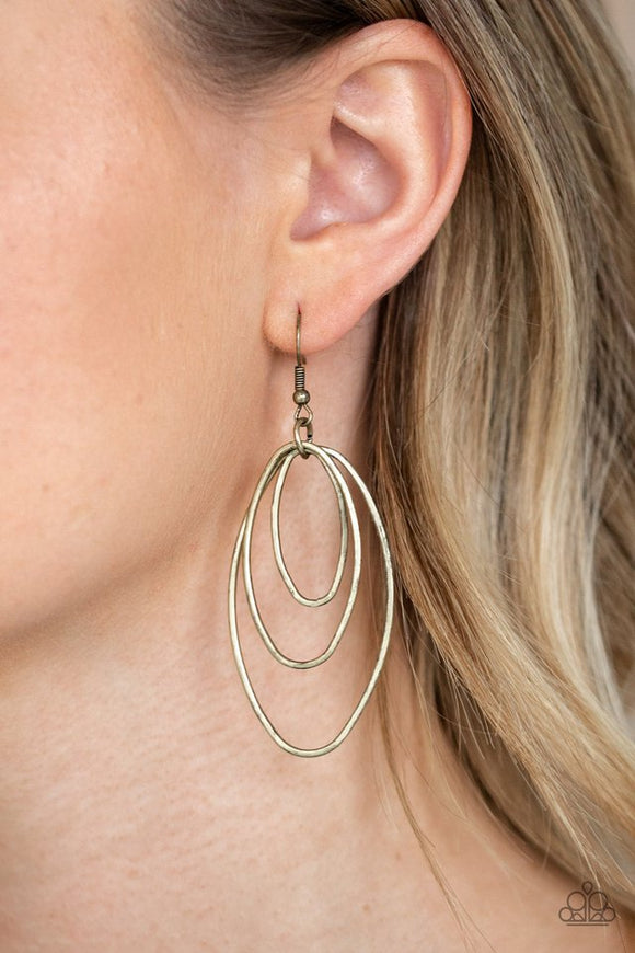 all-oval-the-place-brass-earrings-paparazzi-accessories