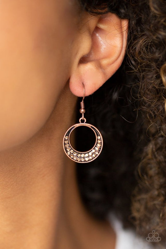 socialite-luster-copper-earrings-paparazzi-accessories