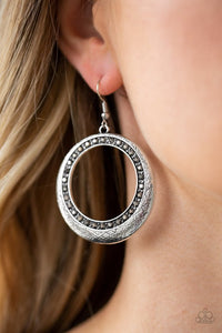 go-go-glow-silver-earrings-paparazzi-accessories