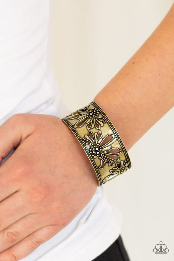 where-the-wildflowers-are-brass-bracelet-paparazzi-accessories