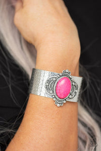 yes-i-canyon-pink-bracelet-paparazzi-accessories