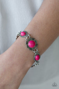 serenely-southern-pink-bracelet-paparazzi-accessories