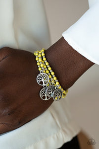 plant-a-tree-yellow-bracelet-paparazzi-accessories