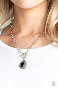 sheen-queen-black-necklace-paparazzi-accessories