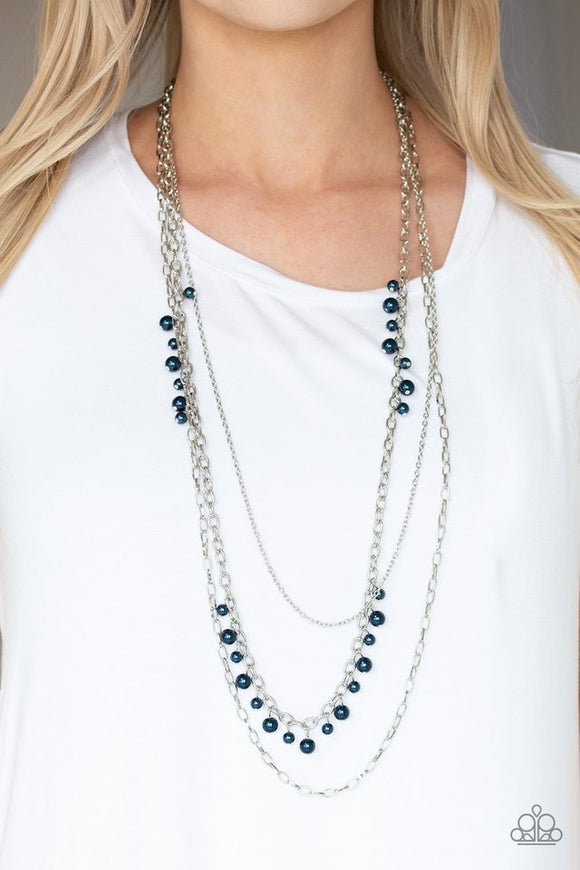 pearl-pageant-blue-necklace-paparazzi-accessories