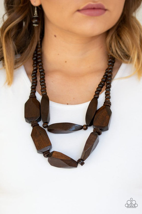 tropical-heat-wave-brown-necklace-paparazzi-accessories