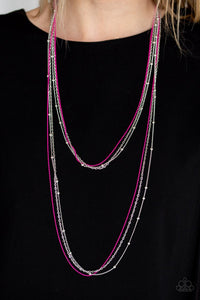 what-a-colorful-world-pink-necklace-paparazzi-accessories