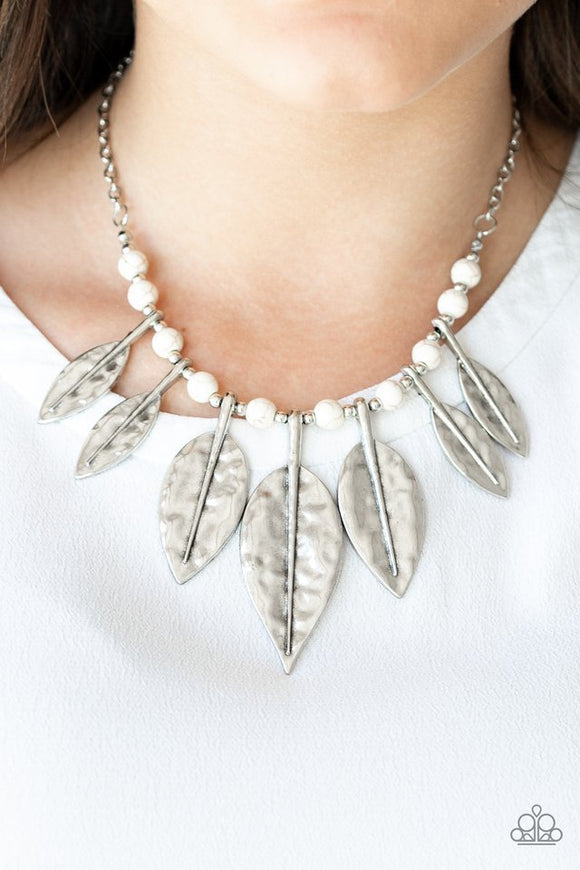 highland-harvester-white-necklace-paparazzi-accessories