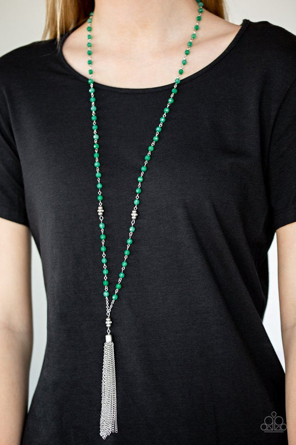 tassel-takeover-green-necklace-paparazzi-accessories