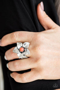 ask-for-flowers-orange-ring-paparazzi-accessories