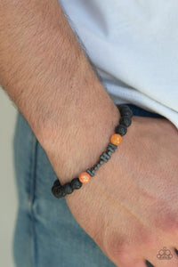 courage-orange-bracelet-paparazzi-accessories