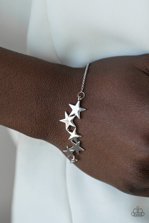 all-star-shimmer-silver-bracelet-paparazzi-accessories