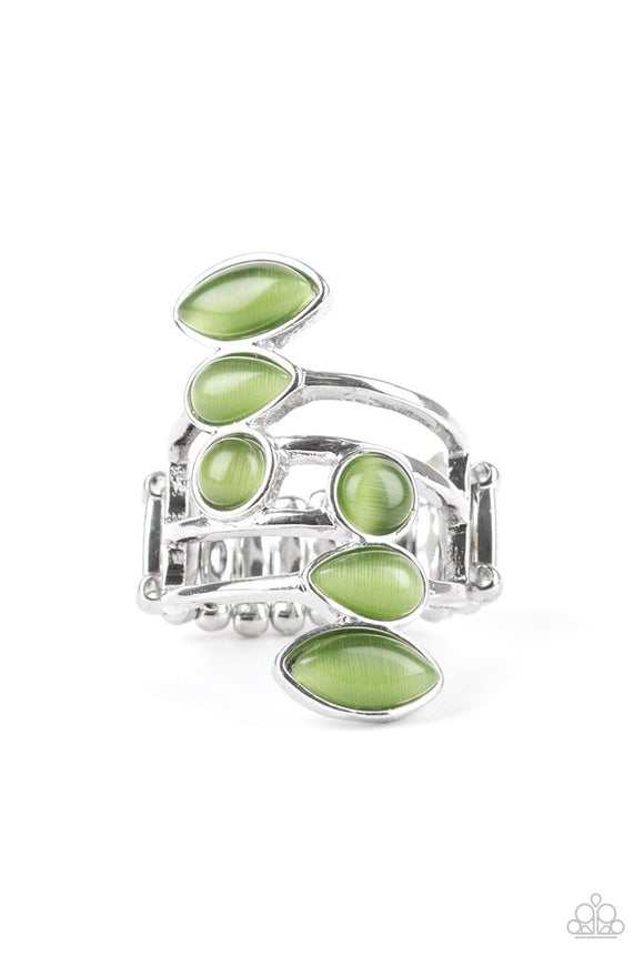 wraparound-radiance-green-ring-paparazzi-accessories