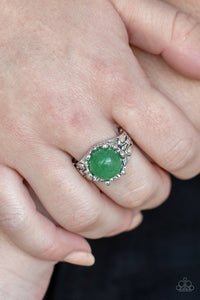 mojave-treasure-green-ring-paparazzi-accessories