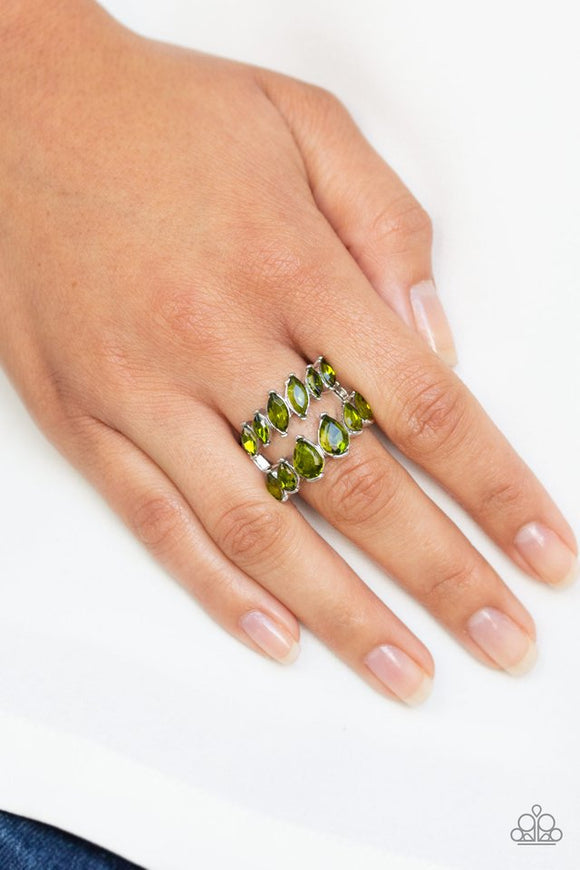 timeless-tiers-green-ring-paparazzi-accessories