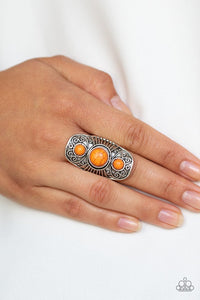 stone-oracle-orange-ring-paparazzi-accessories